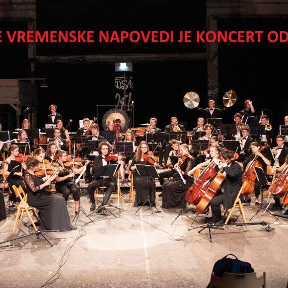 Simfonični orkester Giovane iz Švice; ODPOVEDAN!