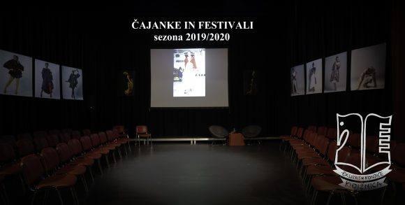 Festivala in Čajanke 2019/2020